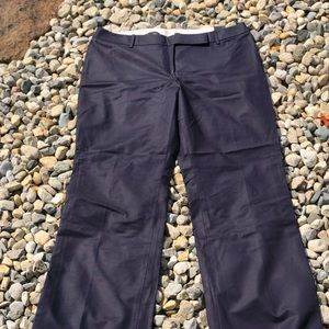 Ann Taylor Loft Julie Boot Leg Navy Pants